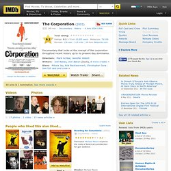 The Corporation (2003