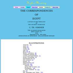 THE CORRESPONDENCES