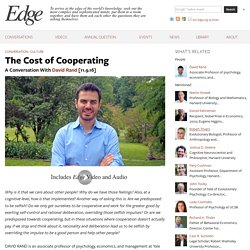 The Cost of Cooperating