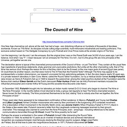 The Council of Nine