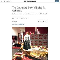 The Crash and Burn of Dolce & Gabbana