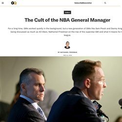 The Cult of the NBA General Manager