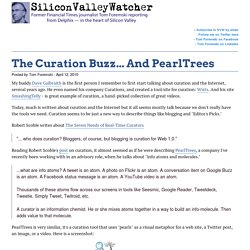 The Curation Buzz... And PearlTrees