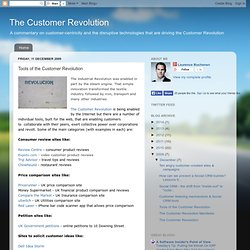 Tools of the Customer Revolution