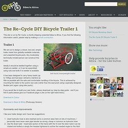The Re~Cycle Trailer | Re~Cycle