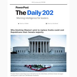 The Daily 202 from PowerPost