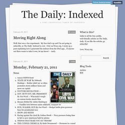 The Daily: Indexed