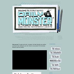 THE DAILY MONSTER: