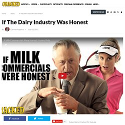If The Dairy Industry Was Honest