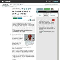 The Danger of a Single Story