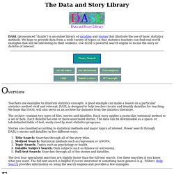 The Data and Story Library