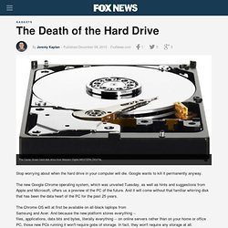 The Death of the Hard Drive - FoxNews.com