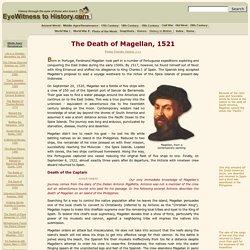 The Death of Magellan, 1521