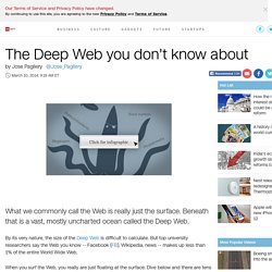 The Deep Web you don't know about - Mar. 10, 2014
