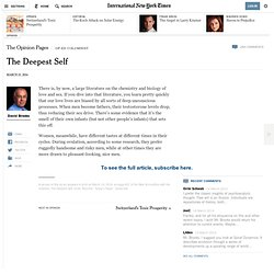 The Deepest Self