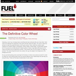 The Definitive Color Wheel