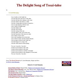 The Delight Song of Tsoai-talee