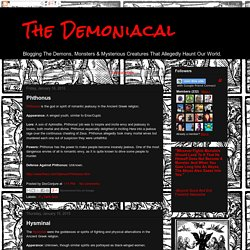 The Demoniacal: Dark God