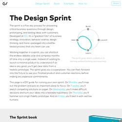 The Design Sprint — Google Ventures