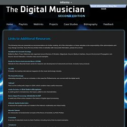 The Digital Musician: