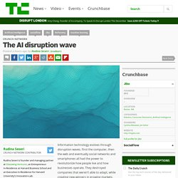 The AI disruption wave