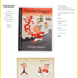The Pet Dragon – Christoph Niemann
