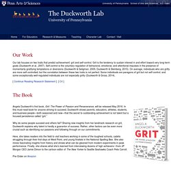 The Duckworth Lab