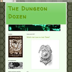 The Dungeon Dozen