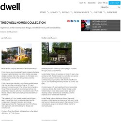 THE DWELL HOMES COLLECTION