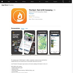 The Dyrt: Tent & RV Camping on the AppStore