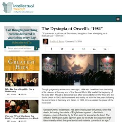 """The Dystopia of Orwell's """"1984"""""""