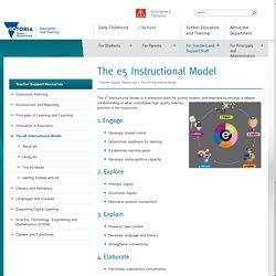 The e5 Instructional Model