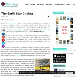 The Earth Star Chakra