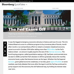 The Fed Eases Off - Bloomberg QuickTake