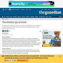 The Echelon spy network