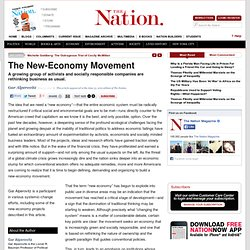 The New-Economy Movement