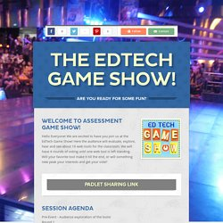 The EdTech Game Show!