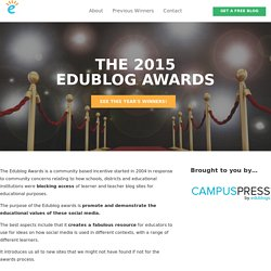 The Edublog Awards