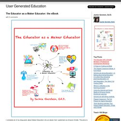 The Educator as a Maker Educator: the eBook