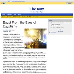 The Ram : Egypt From the Eyes of Egyptians