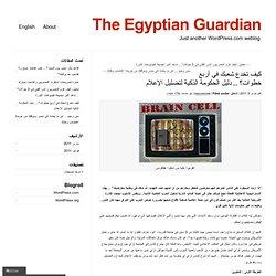 كيف تخدع شعبك في أربع خطوات؟ .. دليل الحكومة الذكية لتضليل الإعلام « The Egyptian Guardian