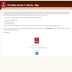 Map Search | The Elder Scrolls V: Skyrim - Map