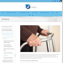The Elderly - HSC PDHPE