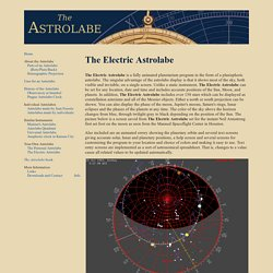 The Electric Astrolabe
