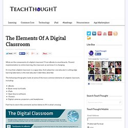 The Elements Of A Digital Classroom