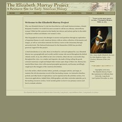 The Elizabeth Murray Project