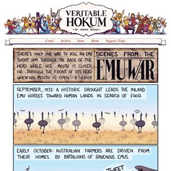 The Emu War – Veritable Hokum