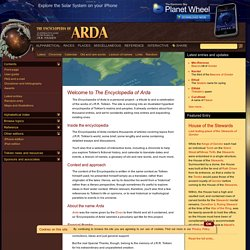 The Encyclopedia of Arda