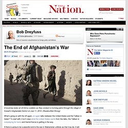 The End of Afghanistan's War