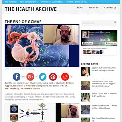 The END of GcMAF - The Health Archive